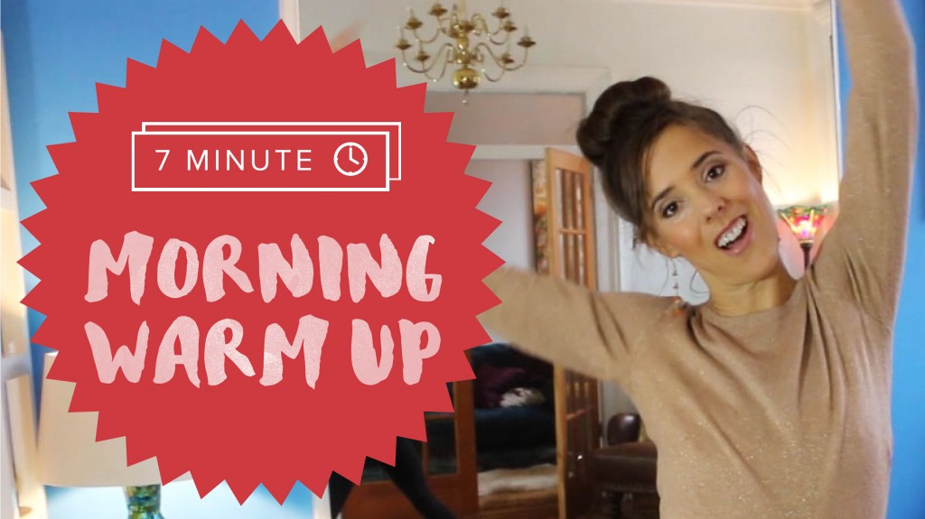 My 7-Minute Morning Workout Warm Up
