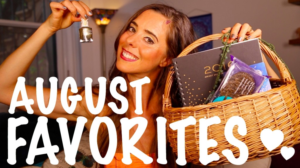 August Favorites + Free Giveaway! #LiveLAHFWin