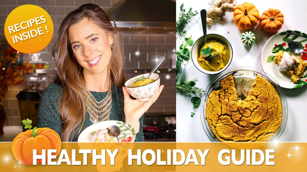 Healthy Recipes for the BEST Healthy Holidays!