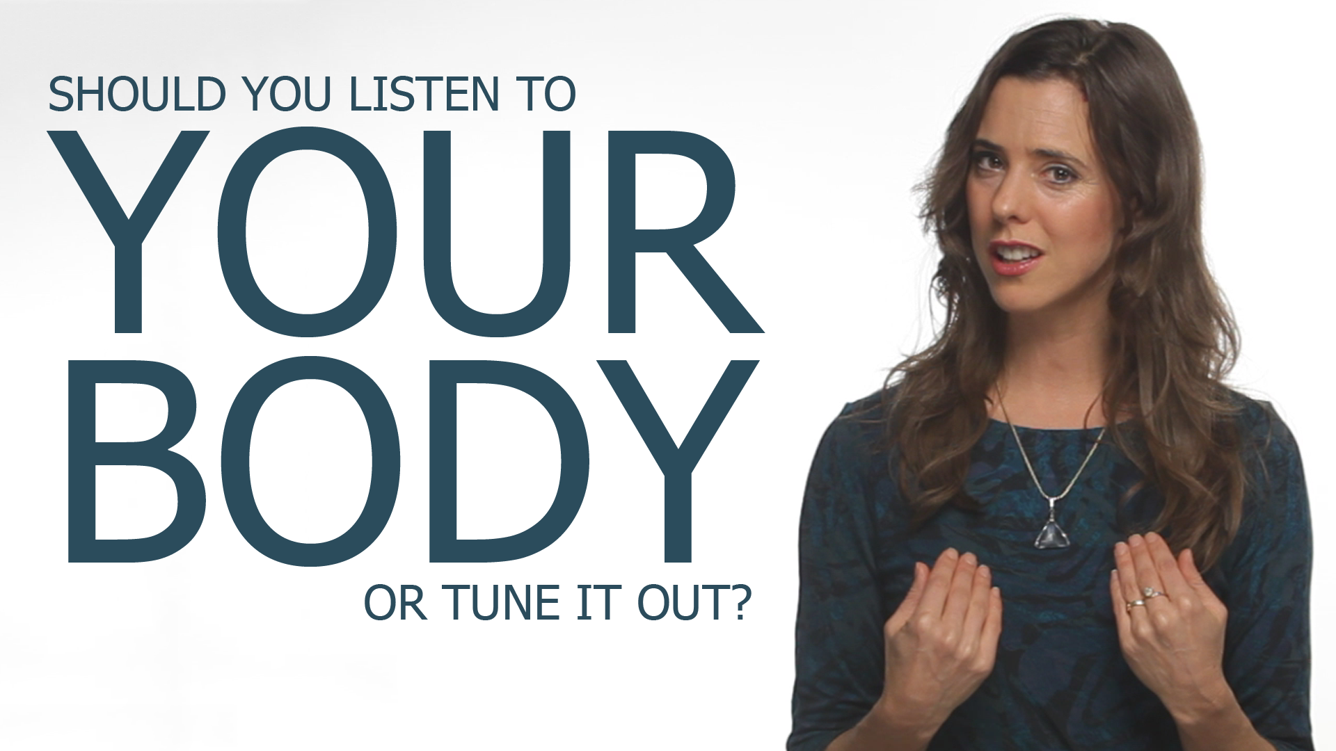 """What Does """"Listen To Your Body"""" Actually Mean?"""