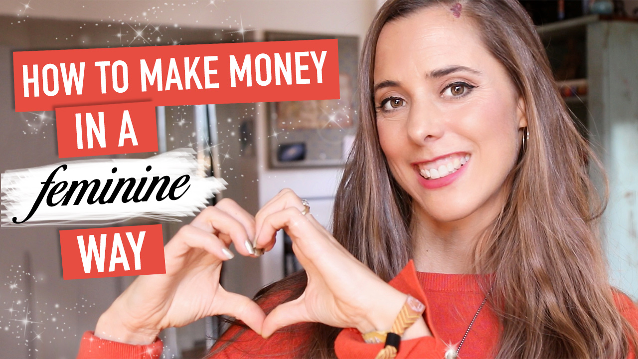 How to Make Money in a Feminine Way. Money Creation 💸🌟🌟